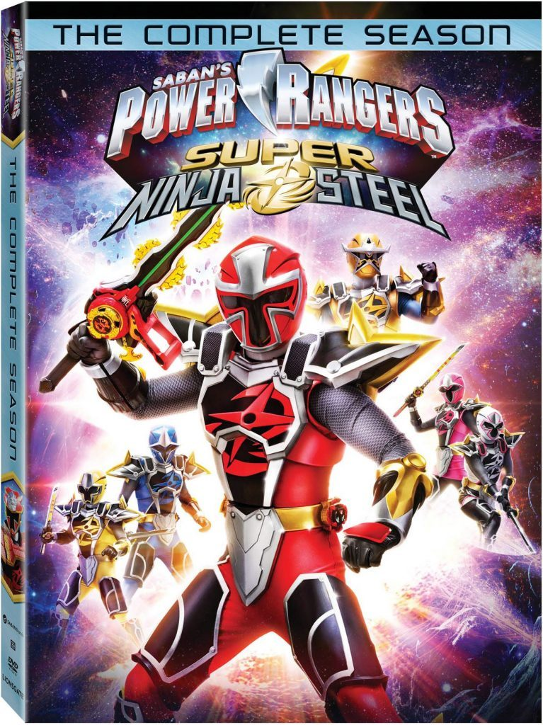 Power Rangers Super Ninja Steel DVD release