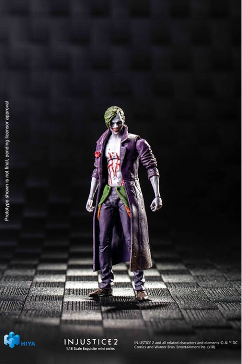 Injustice 2 previews exclusive joker figure