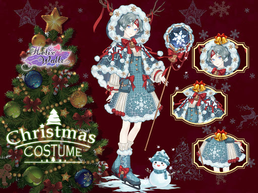 Helix Waltz Sound of Music event Christmas costume game
