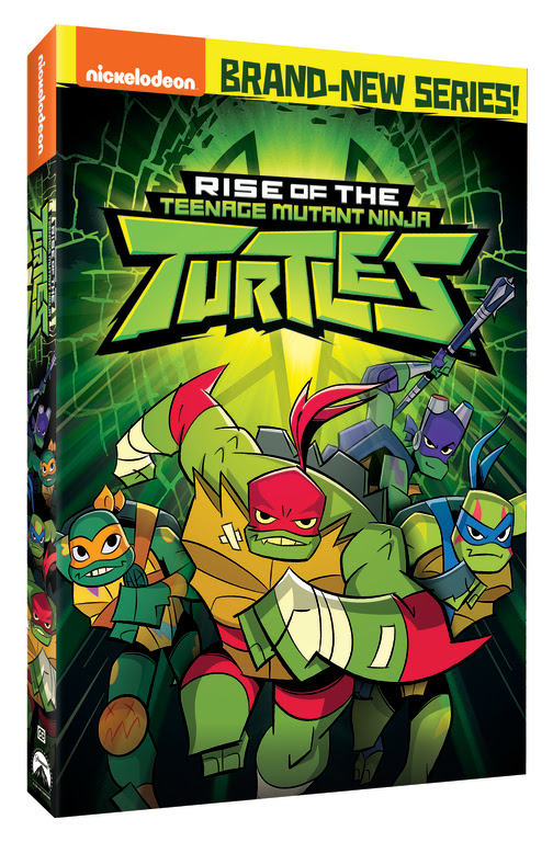 Rise of the teenage mutant ninja Turtles DVD release