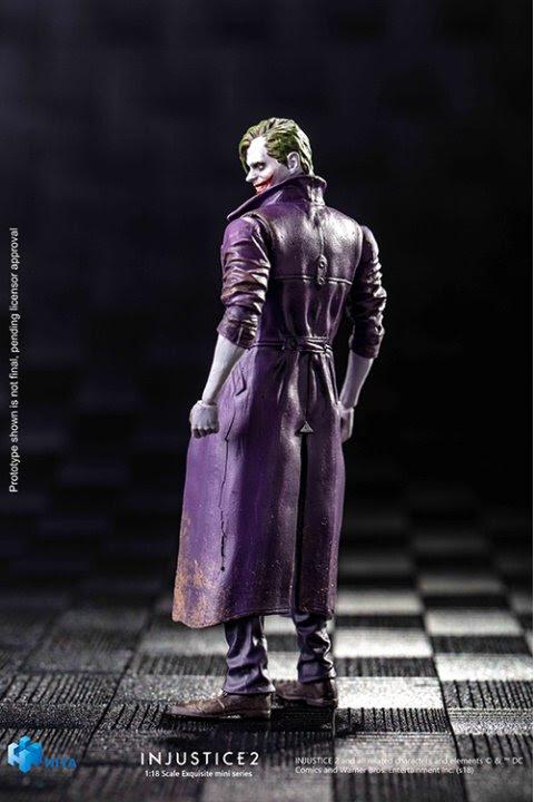 joker injustice 2 previews exclusive figure