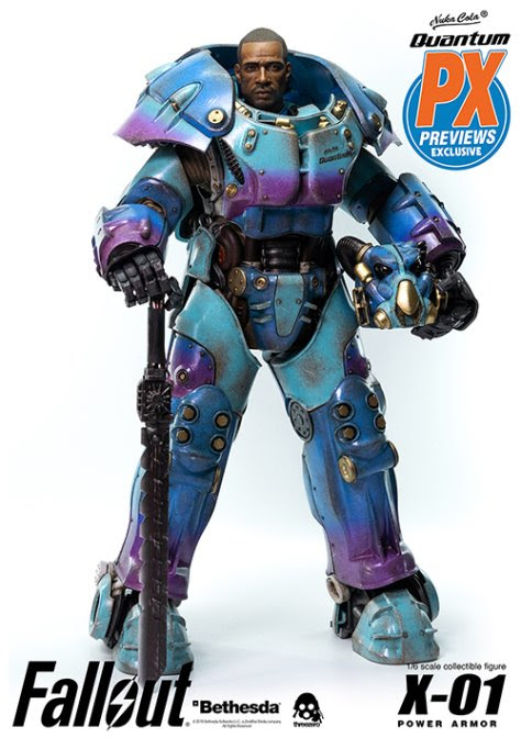 PREVIEWS Exclusive X-01 Power Armor Quantum Variant