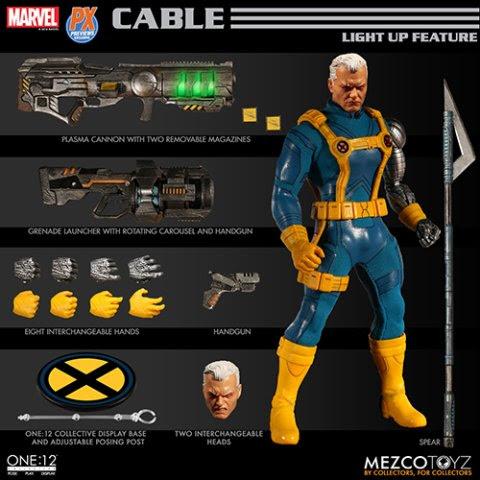 Mezco Toyz Cable Figure