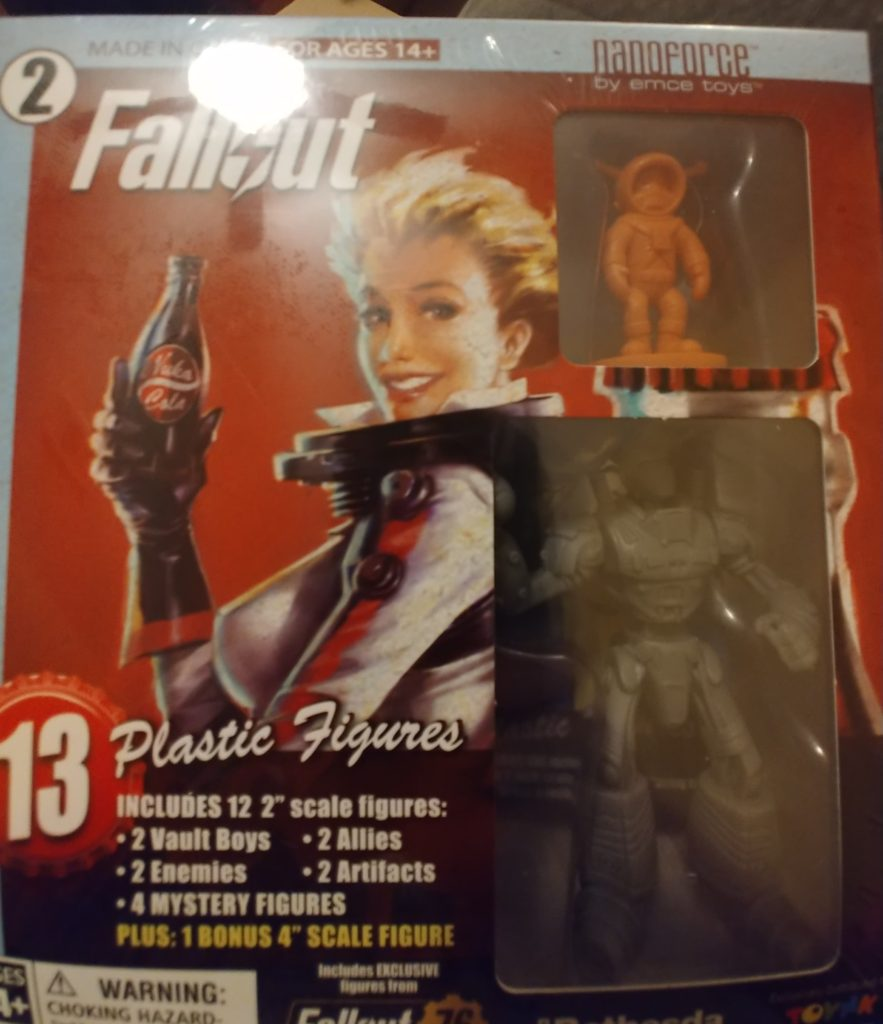 Fallout Nanoforce Volume 2 Box 2 Series 1