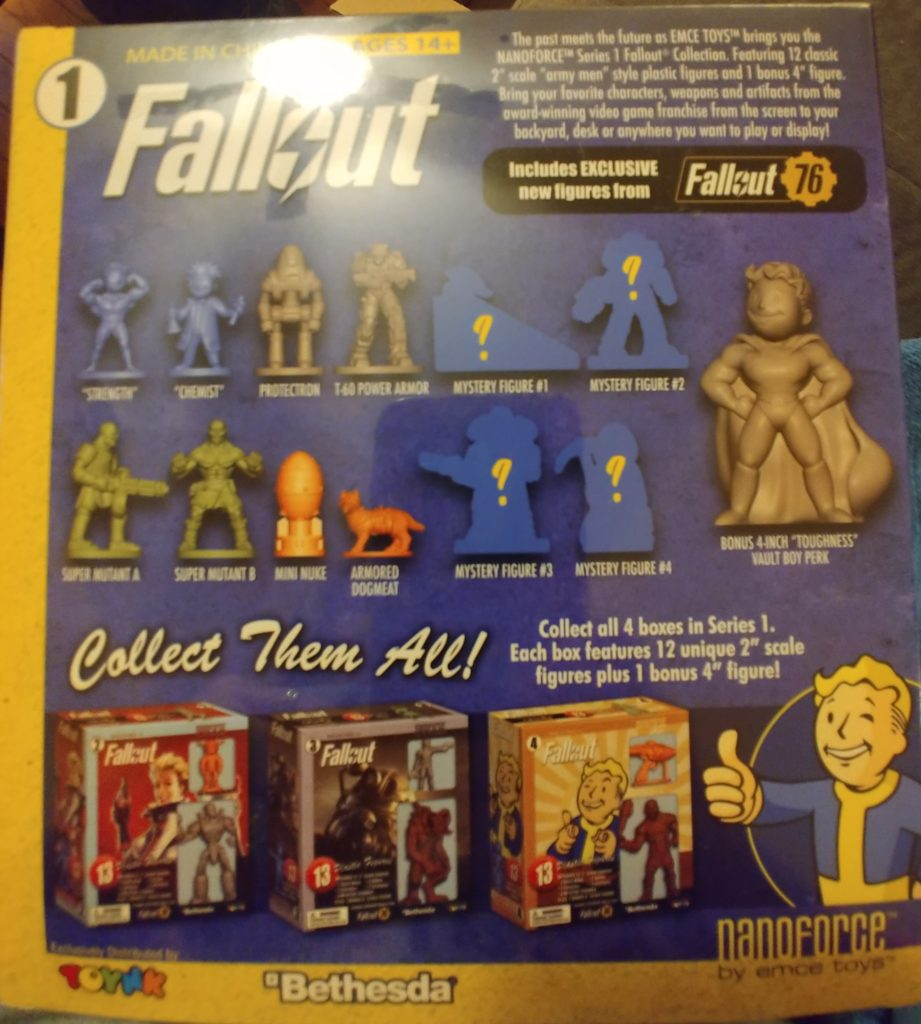 Fallout Nanoforce Volume 1 Box 1 Army Builder