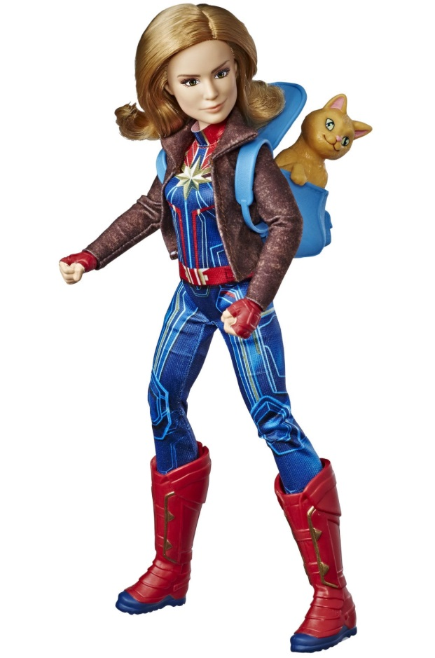 captain marvel goose doll hasbro review