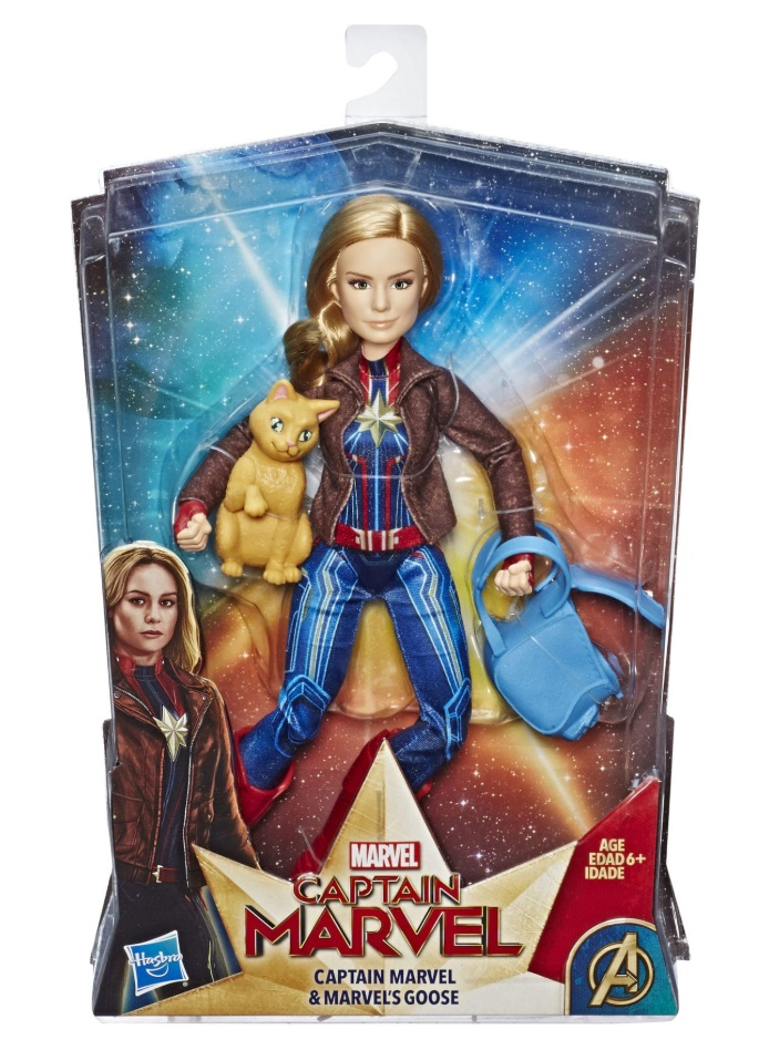 Captain Marvel Marvel Goose doll hasbro review