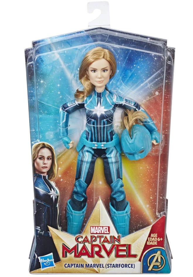 Captain Marvel doll hasbro review