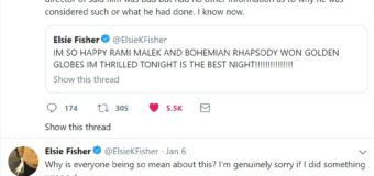 15-Year Old Actress Elsie Fisher Demonstrates Class while Handling Cyberbullying for Supporting 'Bohemian Rhapsody'