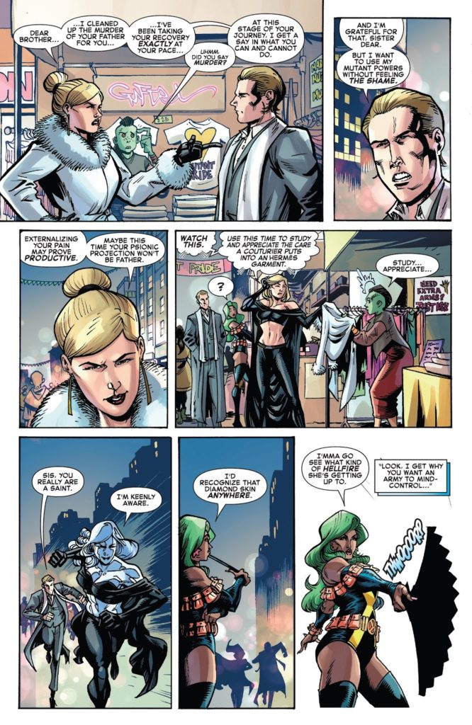 Iceman Issue 5 Shade Emma Frost