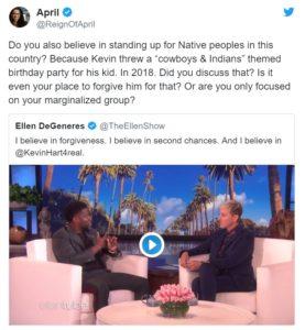 Kevin Hart 2019 Oscars Ellen