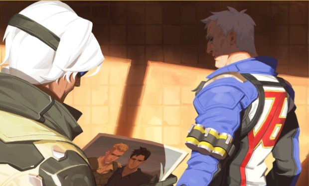 Overwatch Soldier 76 gay