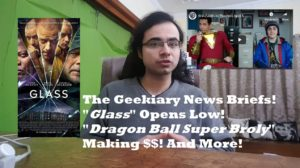Geekiary News Briefs! Glass Opens Low, Fantastic Beasts 3 Delayed, and More!