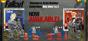 Fallout Nanoforce Series 1 Army Builder Boxed Volume 1 and 2 – Review (Toynk Toys)