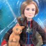 captain marvel with goose cat hasbro doll