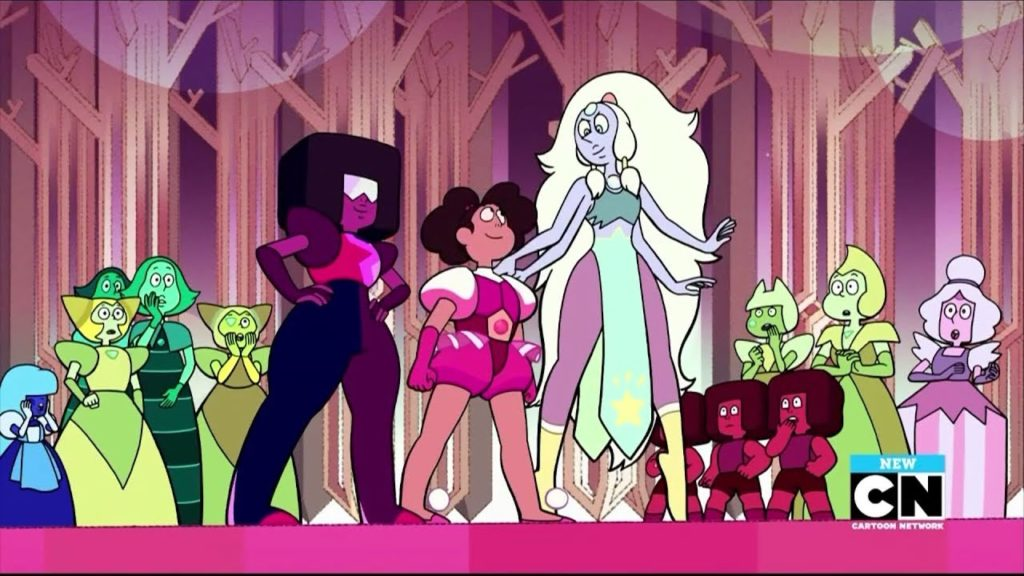 together alone opal garnet stevonnie