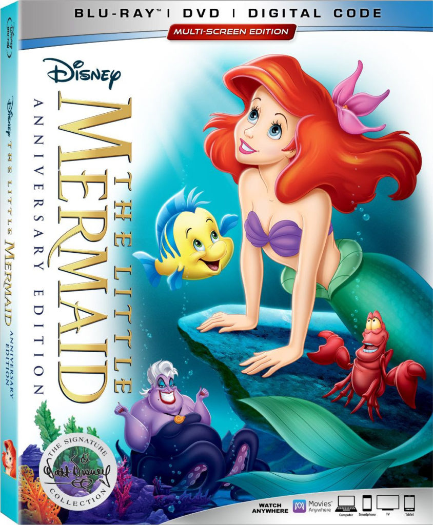 The Little Mermaid Disney Walt Disney Signature Collection Release