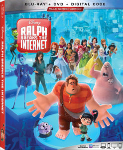 Ralph Breaks the Internet Blu-ray DVD 4k Digital Release disney