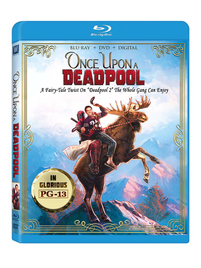 Once Upon a Deadpool Blu-ray Digital