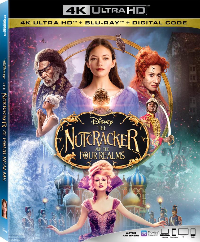 The Nutcracker and the Four Realms Disney blu-ray digital