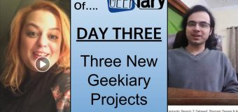 Geekiary Anniversay Day Three: 3 Upcoming Website Projects