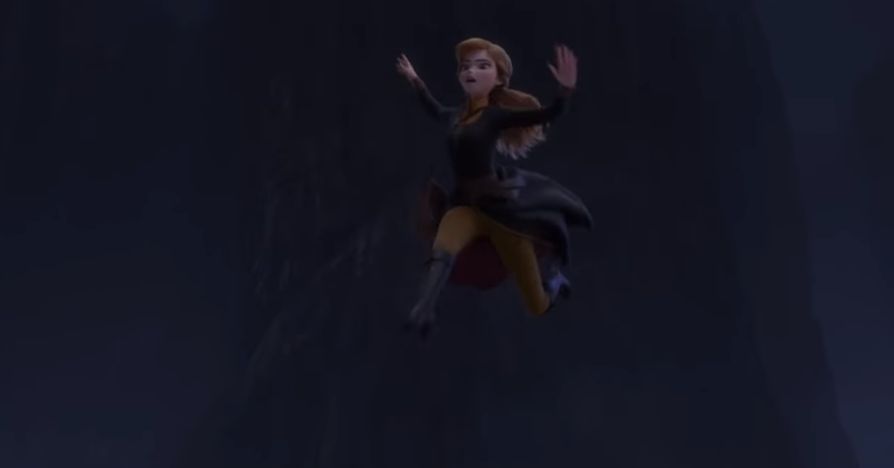 Anna Frozen 2 Jump