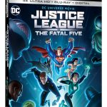 Justice League vs The Fatal Five Blu-ray 4K Ultra HD