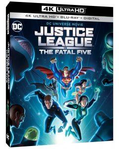 Justice League vs The Fatal Five Blu-ray 4K Ultra HD