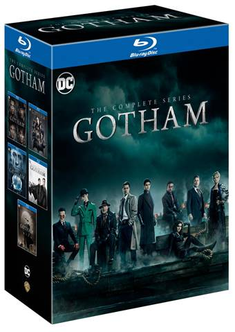 Gotham Complete Series Blu-ray DVD release