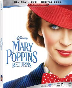 Mary Poppins Returns Blu-ray 4K DVD release March Disney