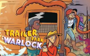 January Webtoon Trailer Park Warlock