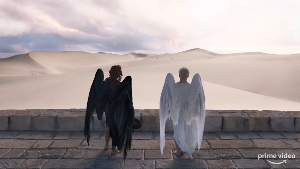 new good omens trailer courtesy of amazon prime