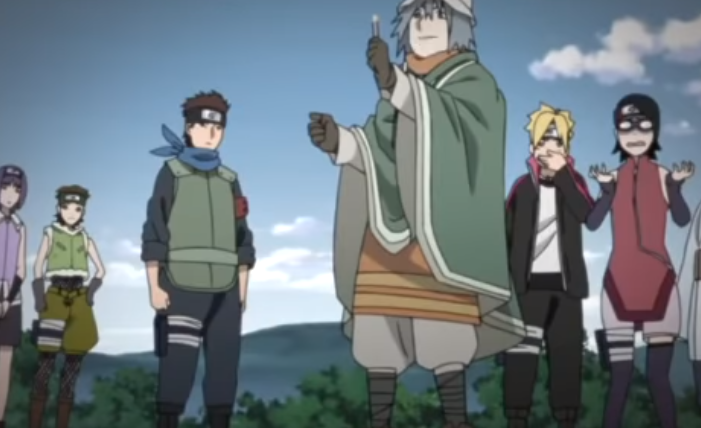 boruto anime 98 review The Cursed Forest