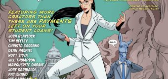 "Alexandria Ocasio-Cortez ""Humbled"" and ""Honored"" by Superhero Comic"