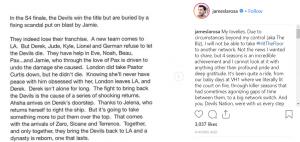 James LaRosa Hit the Floor Season 5 ending Zude Dersha