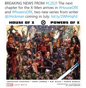 Hickman Marvel X-Men House of X Powers of X