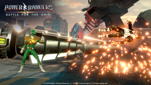 Power Rangers Battle For the Grid game