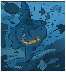 Castle Swimmer