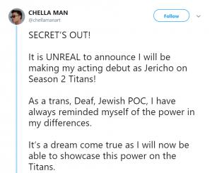 chella man titans season 2 jericho