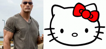 I Didn't Know I Needed a Hello Kitty/The Rock Team-up Until Today