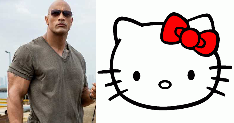 Hello Kitty The Rock
