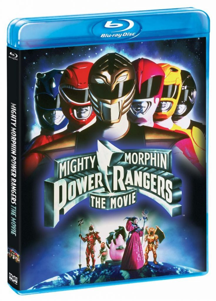 mighty morphin power rangers the movie blu-ray june 2019