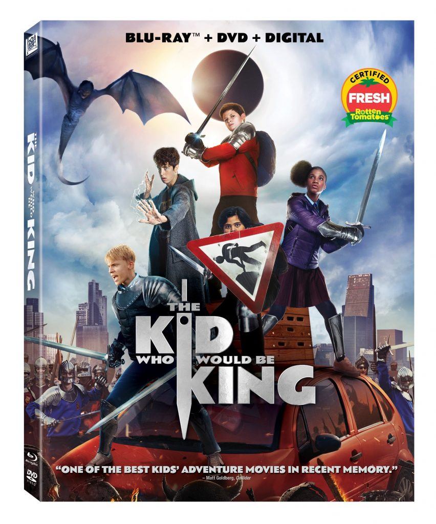 The Kid Who Would Be King: 4K UHD, Blu-ray, DVD April 16, 2019!