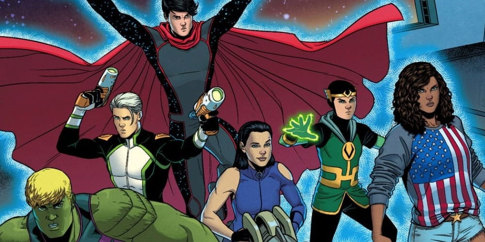 Young Avengers Comic Marvel Queer Representation