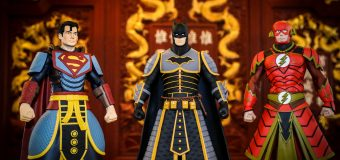 The DC Collectible Figure Collaboration With China's Imperial Palace Highlights Cultural Art
