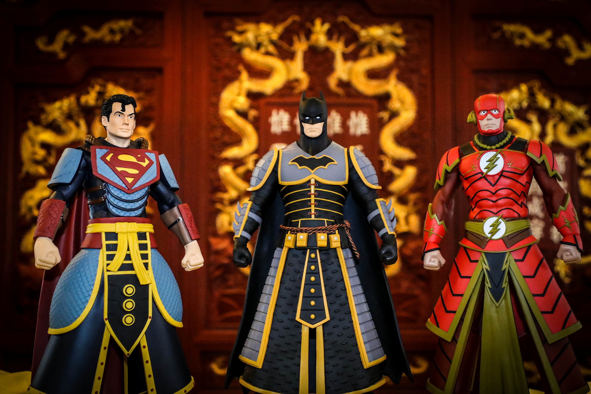 Pop Life Global China Imperial Palace DC Collectibles