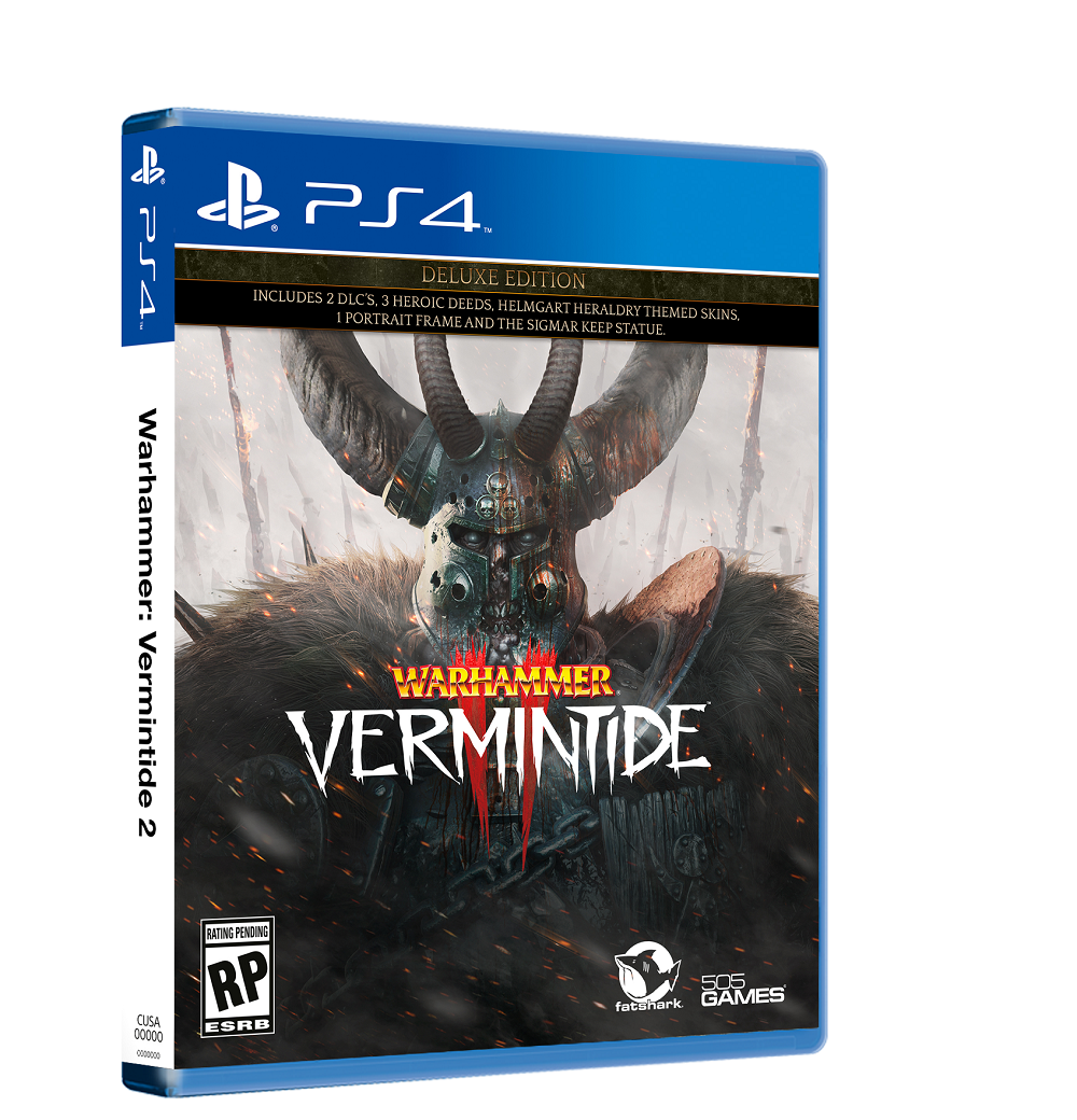 Warhammer Vermintide 2 PS4 Xbox One release June 2019