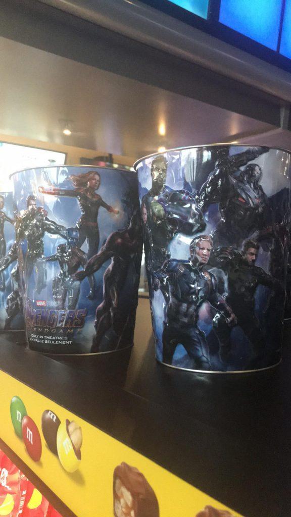 bucket MCU cryathon Avengers Endgame