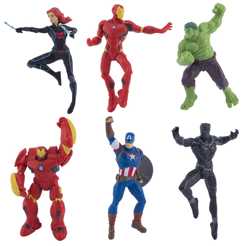 Avengers Dive characters