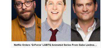 Netflix Orders 'Q-Force' LGBTQ Adult Animated Spy Series!